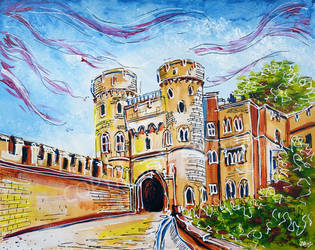 Norman Gate, Windsor by LauraHolArt
