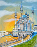 Kul Sharif Mosque by LauraHolArt