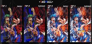[Tagwall] - Dualshock - with Yakumo' by GasaiAkeno