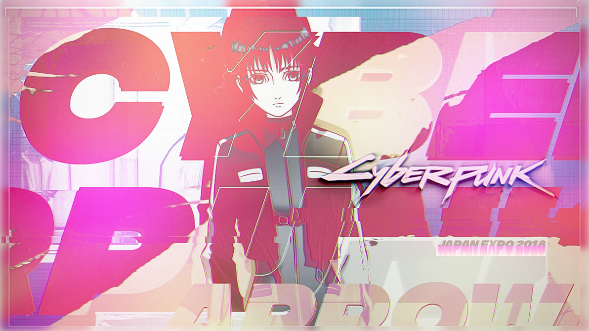 [Banner] - Cyberpunk - Arrow Japan Expo 2018 by GasaiAkeno