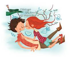 Unos previos a San Valentin by modismille