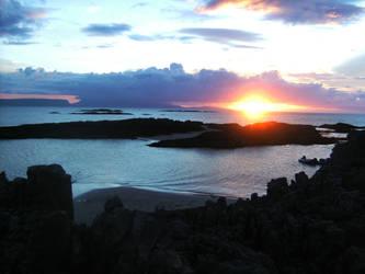 Sunset At Portnadoran by RoseSparrow