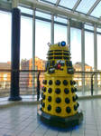 A Dalek tries to Exterminate Princes Quay Shoppers by RoseSparrow