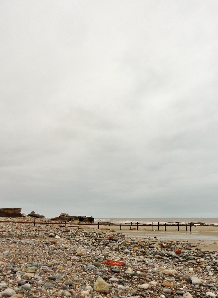Destruction at Kilnsea by RoseSparrow