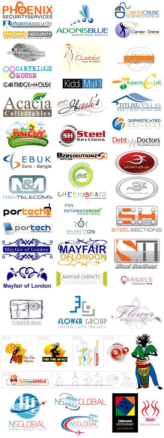 logos folio by drduke on deviantart