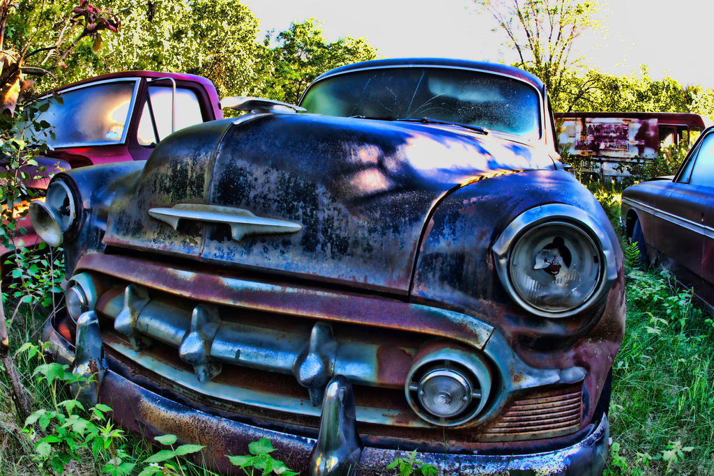 Junkyard Auto 19 by LeeHarwell