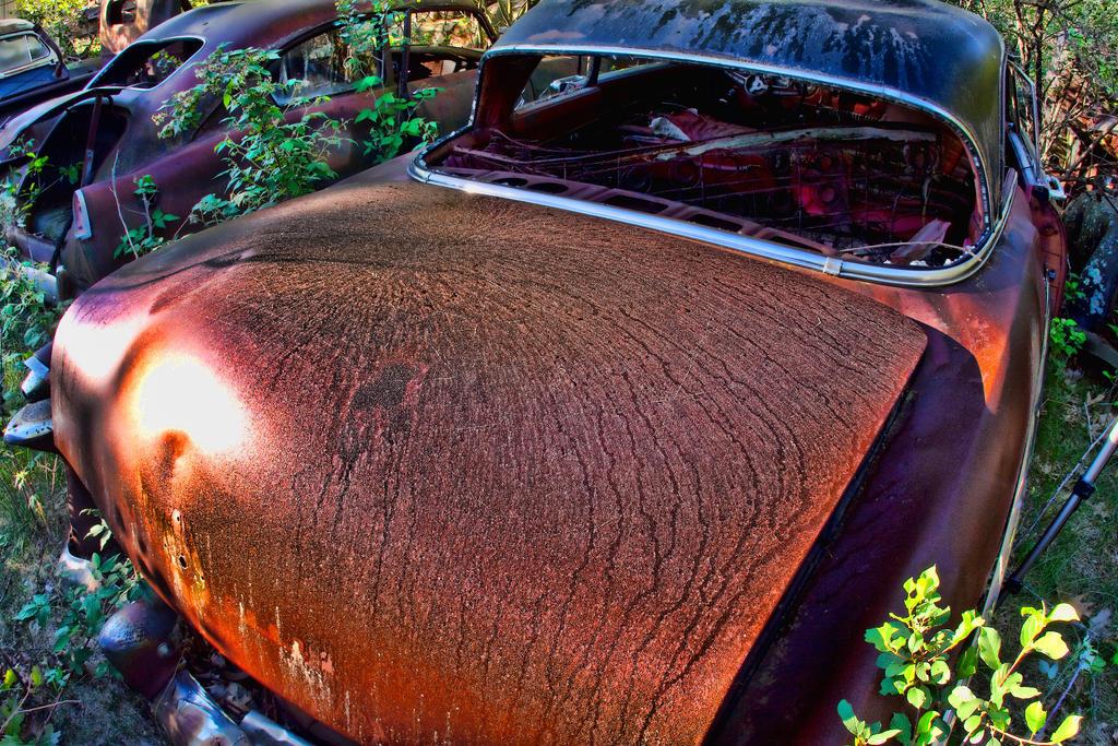 Junkyard Auto 20 by LeeHarwell