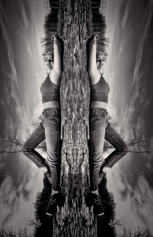 Twin Growth B/W by LeeHarwell