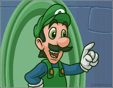 THAT'S MAMA LUIGI TO YOU by zimpy222