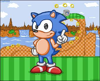 Retro Sonic by zimpy222