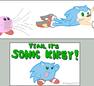 Sonic Kirby? o.O by zimpy222