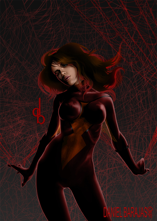 SpiderWoman by dylan2danny