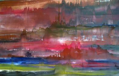 Landscape 1-4 - already sold by ekosyaiful