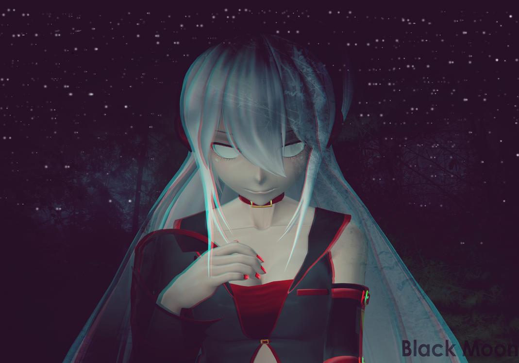 Black moon .:MMD:. by ZiiiChan