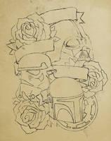 my star wars tattoo by RadicalFlaw