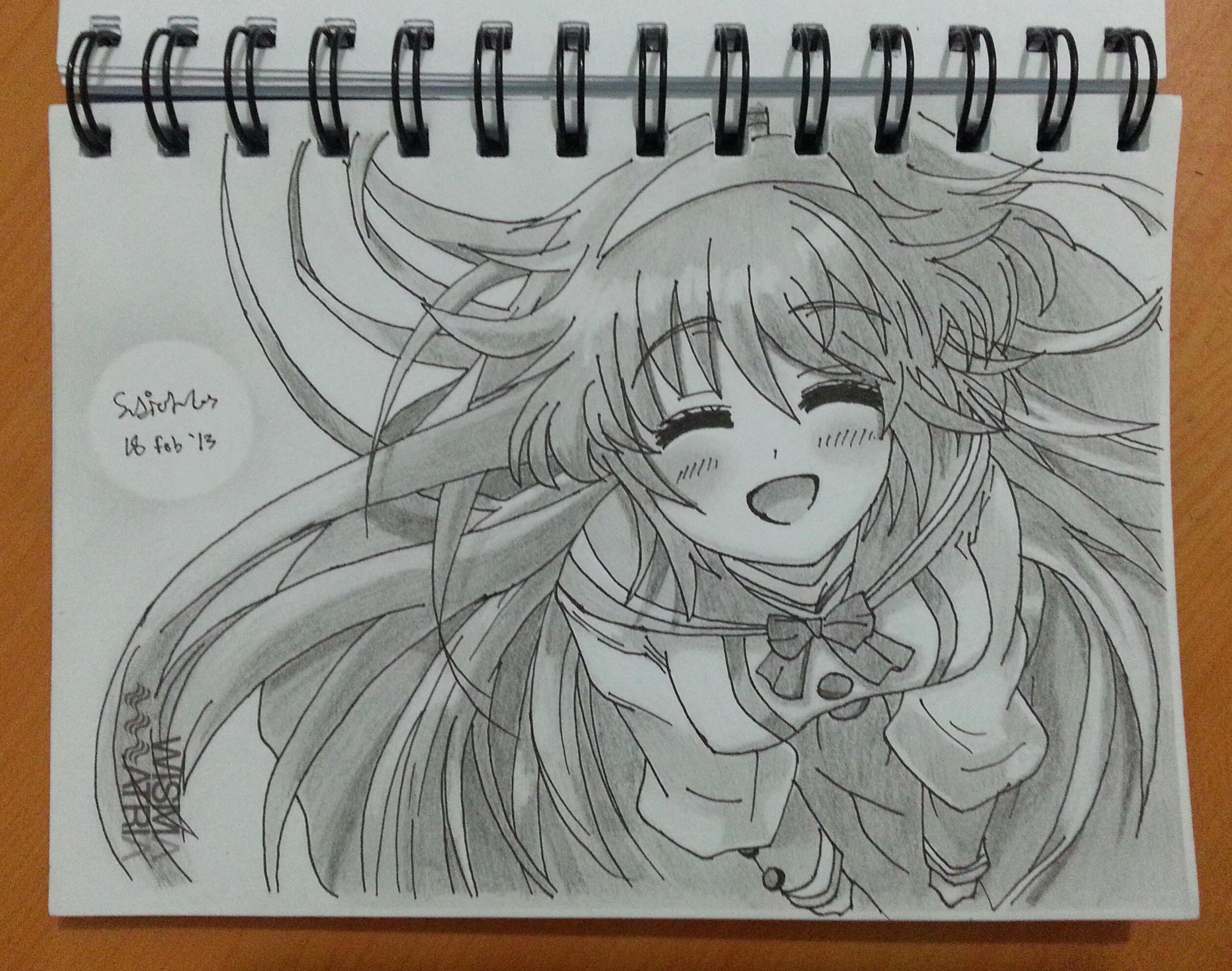 Cute Kawaii Sweet Smile Anime Girl by SudiLin on DeviantArt