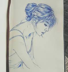 Rockchaeeun (Sarah Lee) by SudiLin