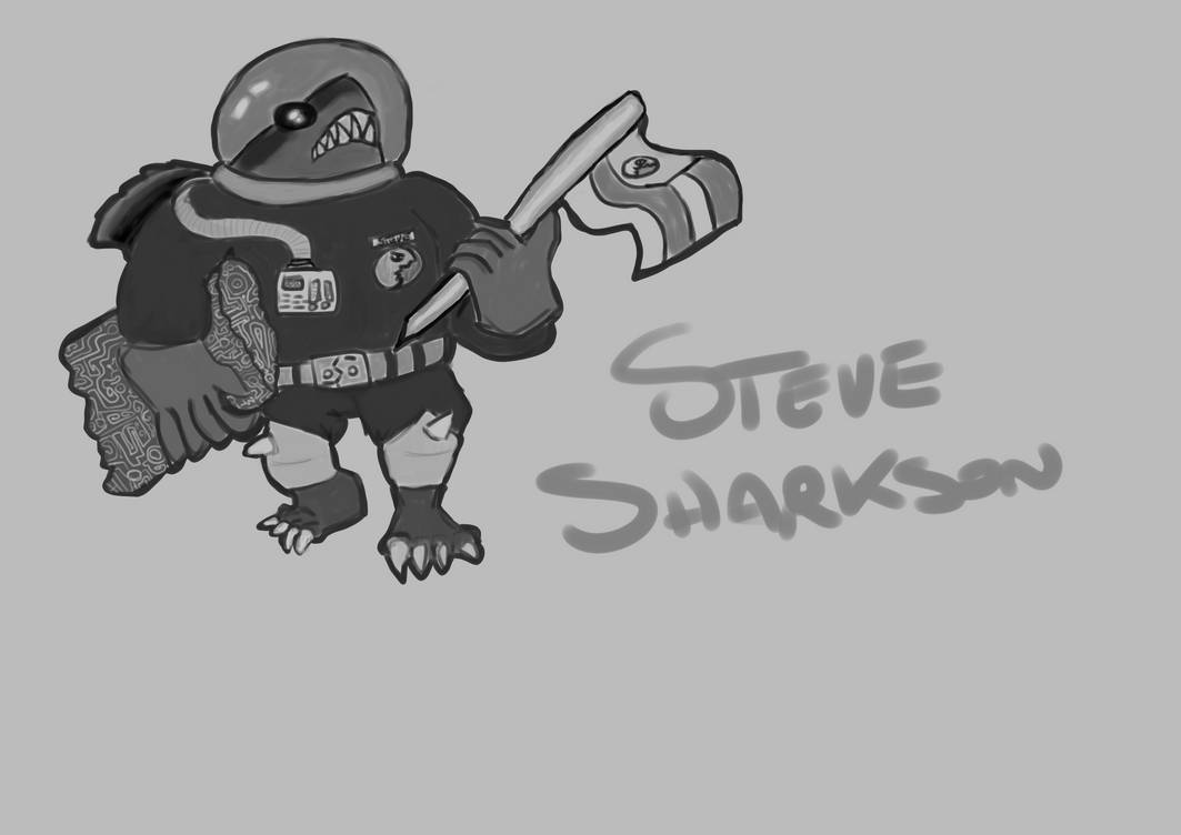 STEVE Sharkson: the Concept by verne001