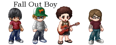 Fall Out Boy Gaias by JosayPoo