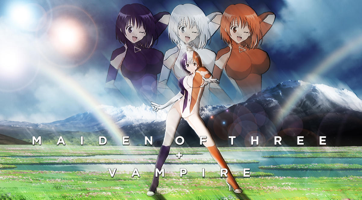 Maiden of Three + Vampire by themasterofantics