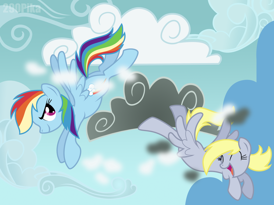 MLP: Clear the Skies! by ShutUpSprinkles