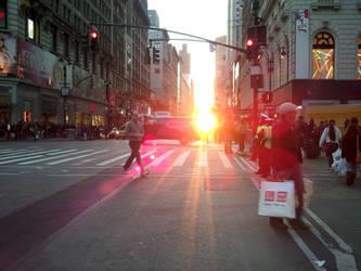 Morning in NYC by lishanshan