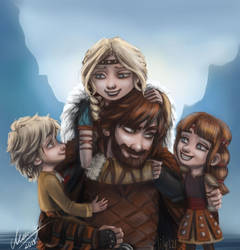 Haddock family by Lily-121