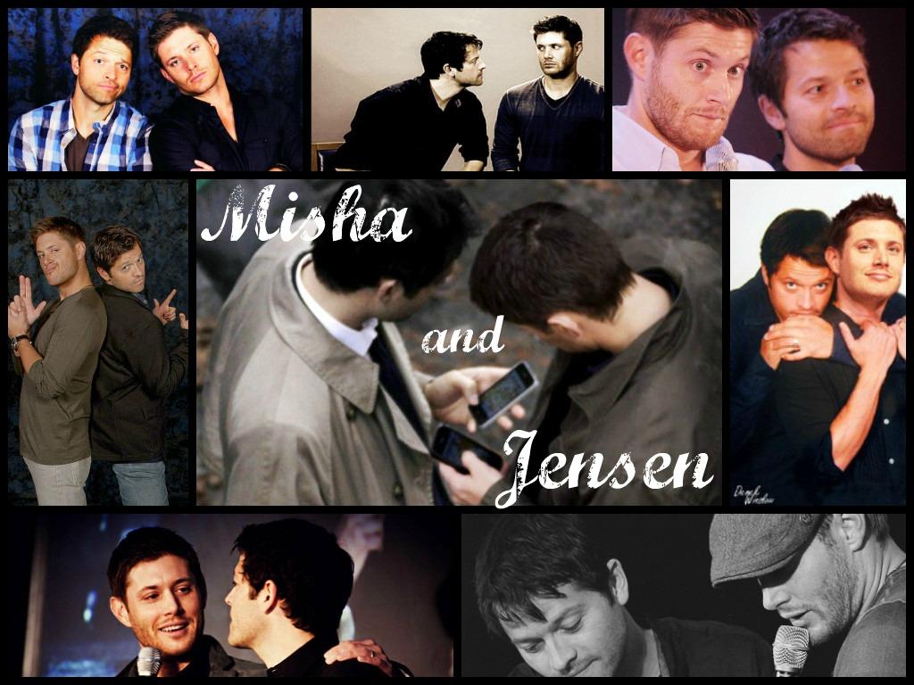 Misha Collins Collage Tumblr Misha x jensen cockles collage