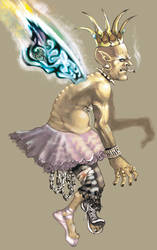 Tooth Fairy by Blanco-Pantera