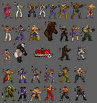 Tekken 5: 2D collectors edt. by Blanco-Pantera