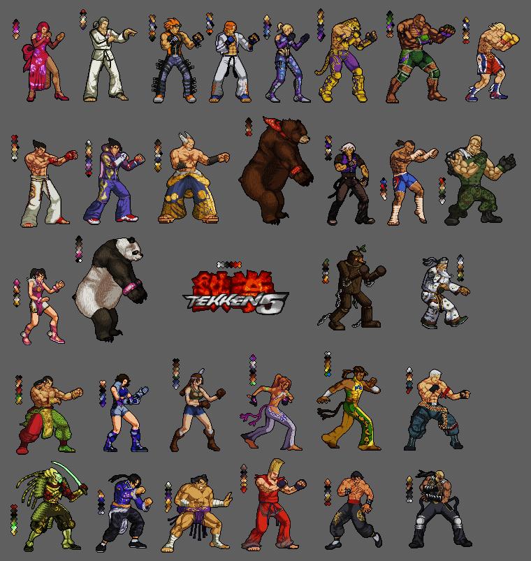 Tekken 5: 2D collectors edt. by Blanco-Pantera on DeviantArt