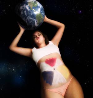 Earth gonna be her dessert
