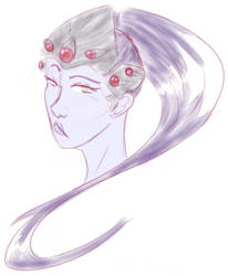 Widowmaker sketch by YouAreNotMyMaster