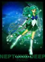 Sailor Neptune - Deep Submerge by LadyDuskfall