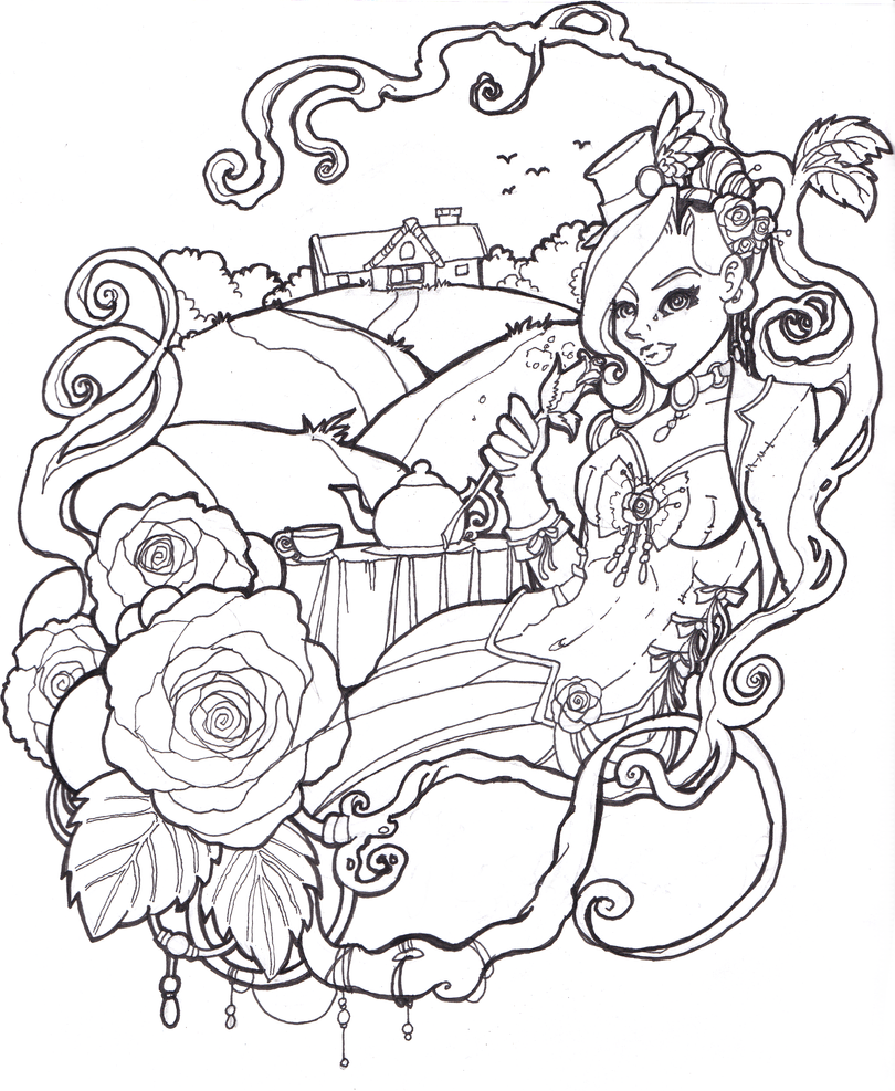 Image Result For Melody Coloring Pages