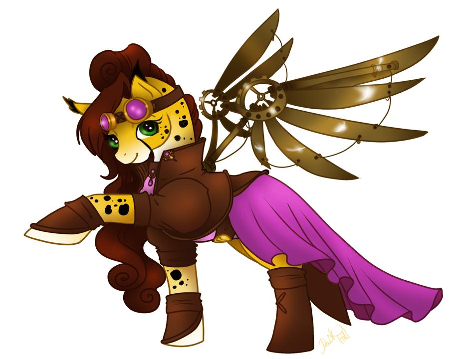 Goldie Holland Pony by LadyDuskfall