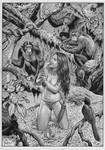 JUNGLE GIRL BY JOE PIMENTEL