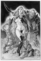 GOBLIN QUEEN by Joe Pimentel