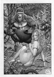 JUNGLE GIRL by Joe Pimentel by joepimentel2018