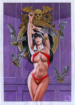 VAMPIRELLA by Joe Pimentel