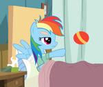 Rainbow Dash in the Hospital