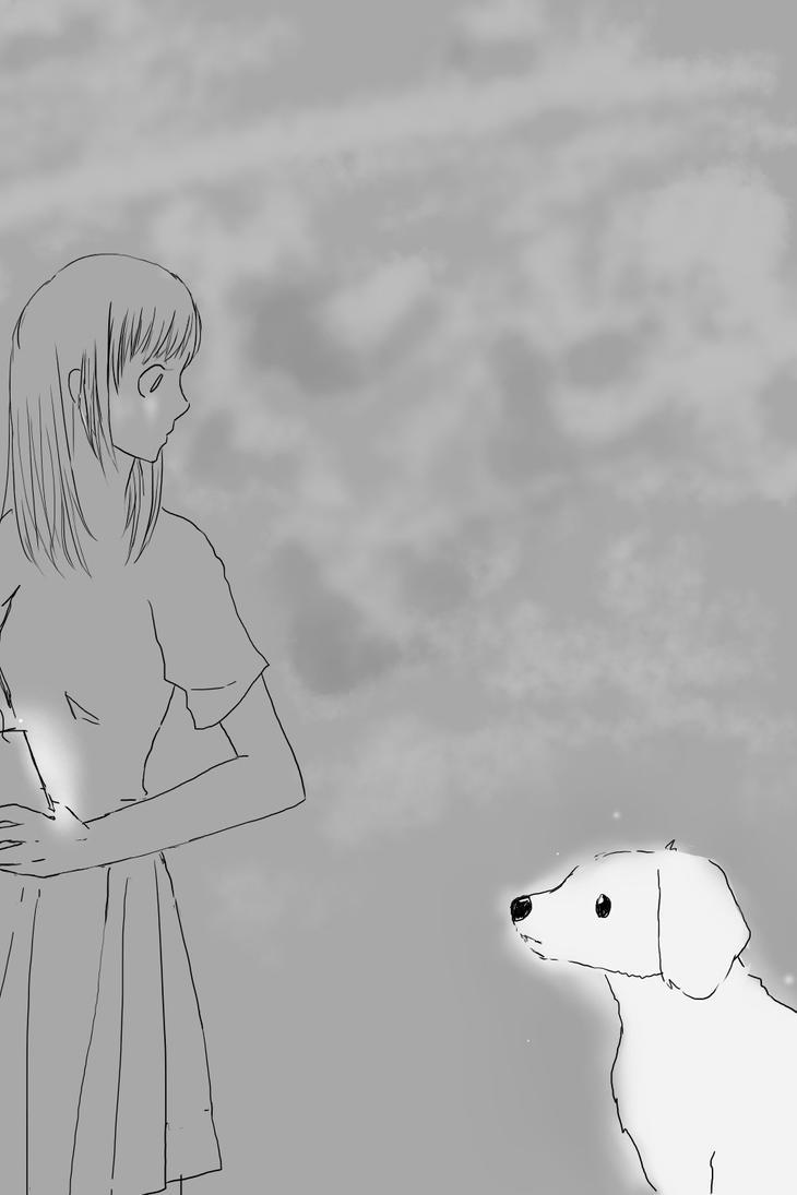 Dog by hoohoohee