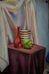 Of Mugs and Guavas and Satin Drapes. by PriyanshiPokharna