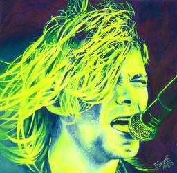 Kurt Cobain by PriyanshiPokharna
