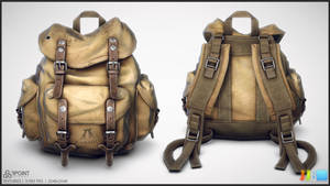 Kakadu Backpack - Textured Sheet 02 by JeremiahBigley