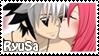 Ryuujin X Saeko Stamp by VeroChama