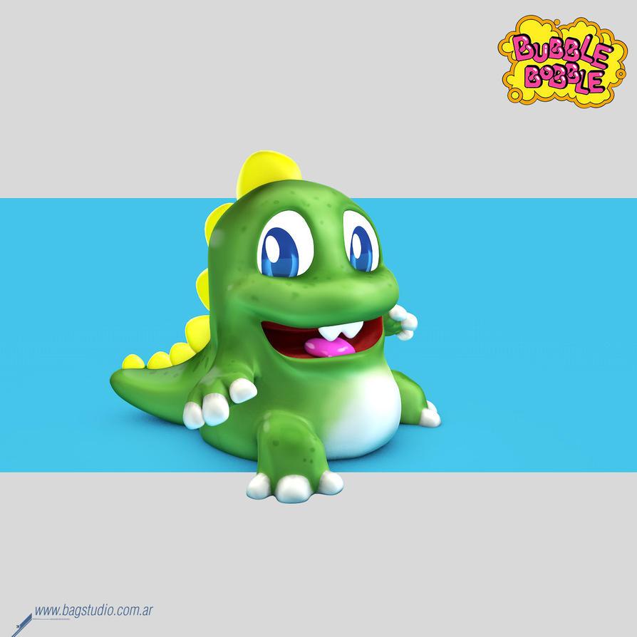 Bubble Bobble by MrGabey