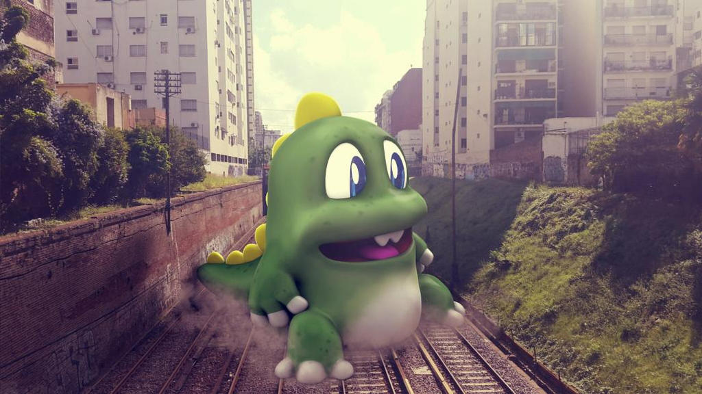 Bubble Bobble Attack! by MrGabey