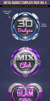Metal Badges Pack  Vol4