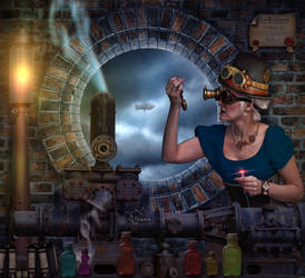 Alquimista Steampunk by Taracena2017